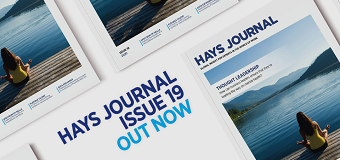 Hays Journal 19 out now