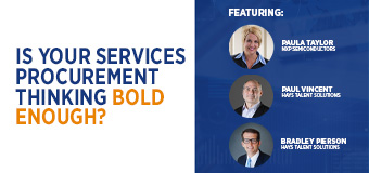 Webinar: Is your Services Procurement thinking bold enough?