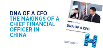 DNA of a CFO China