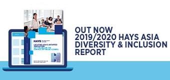 2019/2020 Hays Asia Diversity & Inclusion report
