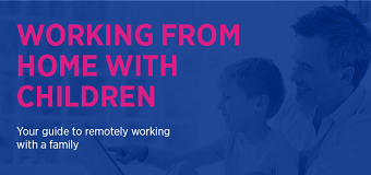 Manage remote working with a family