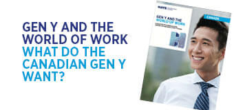 Gen Y and the World of Work